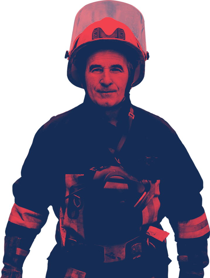 Male Firefighter